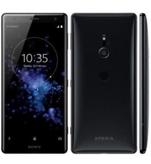 Celular Sony Xz2 Dual Preto Completo Com Capas