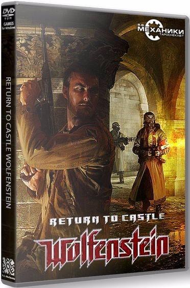 Wolfenstein Return To Castle - Pc Dvd - Frete 8 Reais