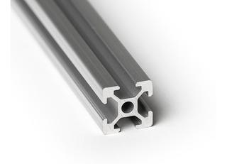 Perfil Aluminio Tipo Bosch 2020 - 1 Metro Impresora 3d Cnc