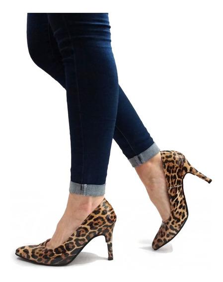 Zapatos Mujer Stilettos Fiesta Clasicos Taco - Art. 800