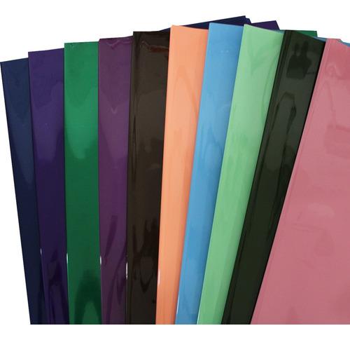 Imagem 1 de 1 de Poli Sujinho Celofane Colorido Cores Sortido Com 50 Folhas