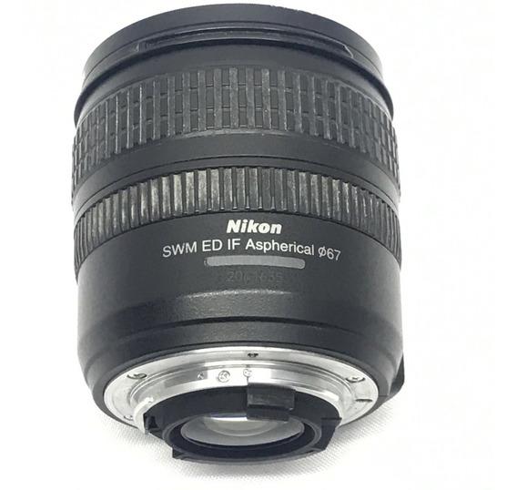 Lente Nikon 24 85mm Ed F 3.5 4.5g Af S Nikkor Japan - Usada!