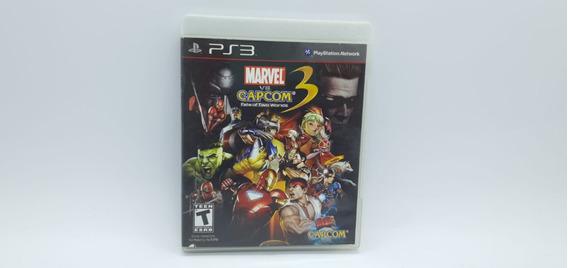Marvel Vs Capcom 3 Fate Of Two Worlds - Ps3 -mídia Física Cd