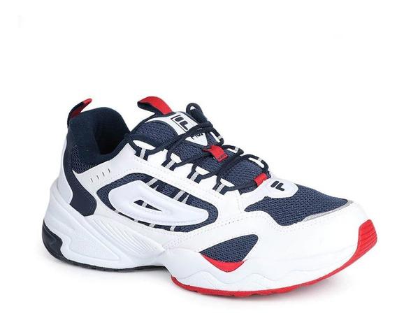 Zapatillas Fila Attrek Blanco/marino Moda - Corner Deportes