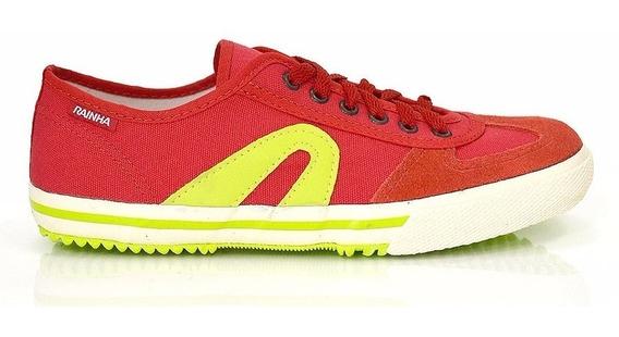 Tenis Rainha Vl 2500 Vermelho/verde Fluor Reisreplicas