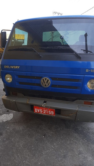 Vw 8150 Delivery No Chassi Ano 2008.