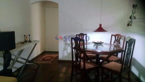 Imagem 1 de 10 de Apartamento 3 Dorms, 2 Vagas,  75m², Lazer Completo, Pronto Para Morar! - Mr53451