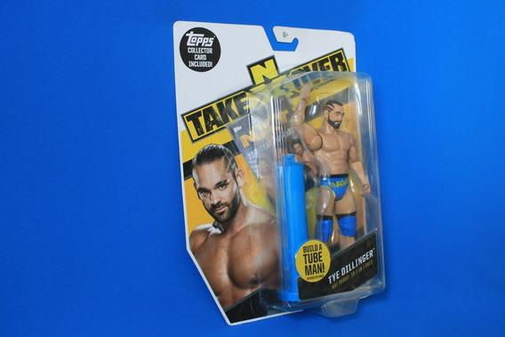 WWE MATTEL SERIE 57 acción lucha libre figura TYE Dillinger 10 Accesorios NXT