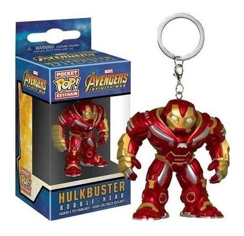 Imagem 1 de 6 de Pocket Pop Keychain Chaveiro Funko - Hulkbuster Infinity War
