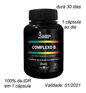Vitamina Complexo B B1 B2 B3 B5 B6 B9 Ácido Fólico B12