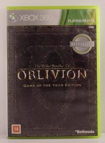 The Elder Scrolls 4 Oblivion Xbox 360 Usado Midia Física