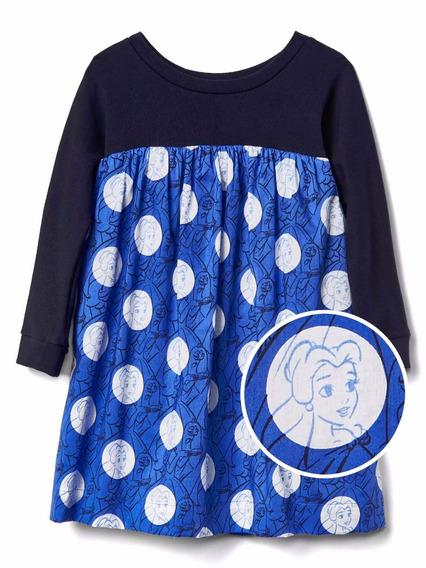 Roupas De Bebe Vestido Gap Disney Princesa Bela