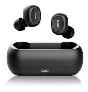 Fone Qcy T1c Tws Bluetooth 5.0 Cor Preto