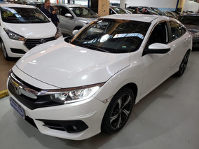 Honda Civic Exl 2.0 Completo Automático Branco 2017