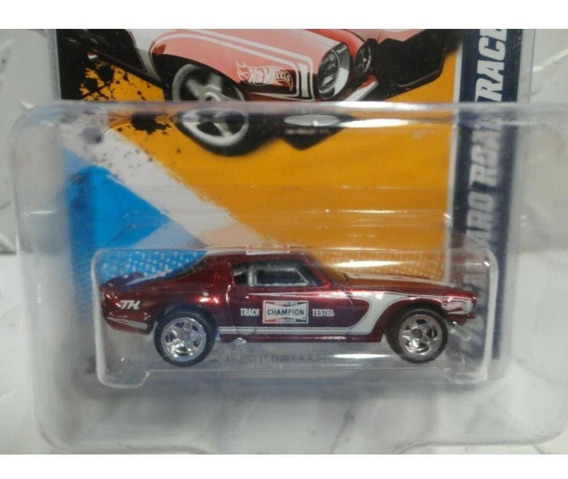 Hot Wheels 2012 Super T Hunt 70 Camaro + Protetor Cartela