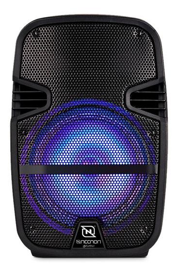 Bafles 8 Pulgadas Bocinas Amplificadas Bluetooth Portatil Recargable Audio Profesional Necnon