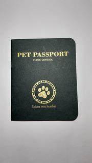 Carnet Tipo Pasaporte Para Animales De Compañía
