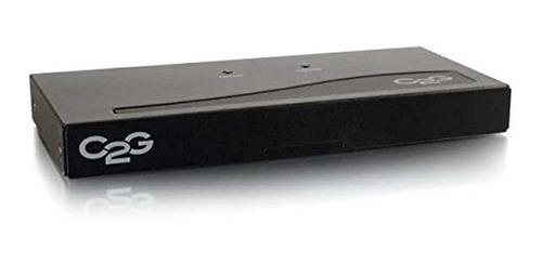 Imagen 1 de 4 de C2gcables Para Ir 29551 4port Uxga Monitor Splitterextender