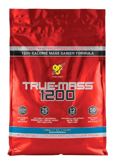 True Mass Bsn 10,38 Libras - Ganador De Masa
