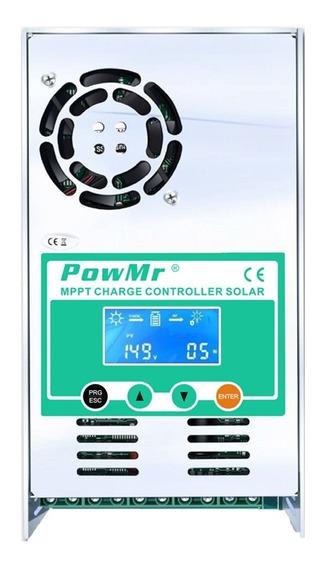 Controlador De Energia Solar 40 A 12/24/36/48v Mppt Puro
