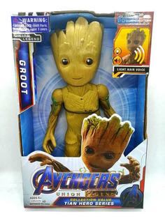 Muñeco De Acción Avengers Groot