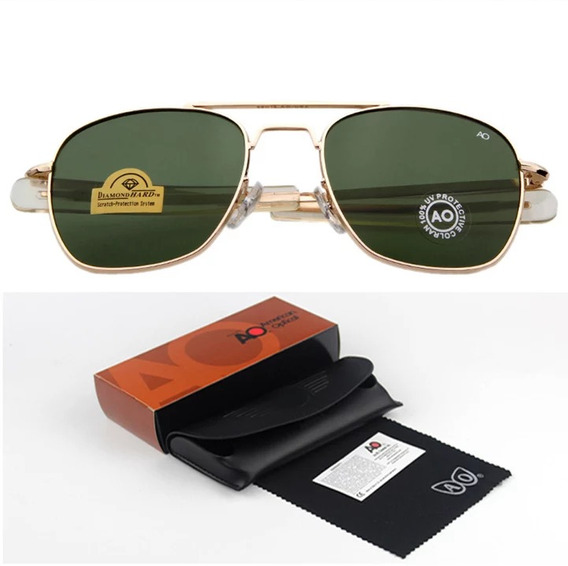 Óculos Modelo 8054/rs265 Aviador Militar American Optical