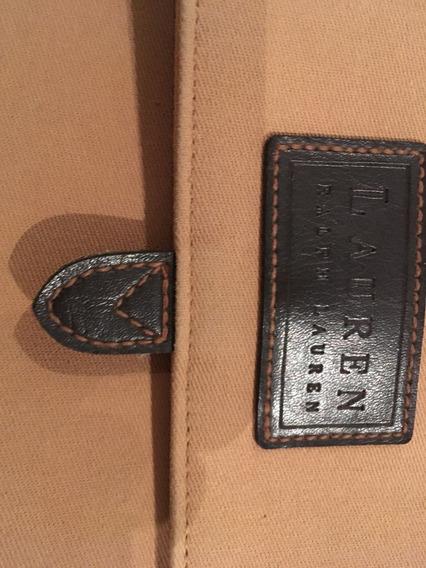 Cartera Tipo Morral Ralph Lauren Original Importada