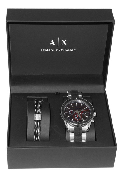 Kit Relógio Armani Exchange Masculino Robustos Ax7106