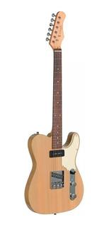 Guitarra Eléctrica Stagg Set Cat Yw Tipo Telecaster Vintage