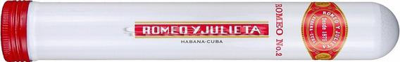 Habanos N2 Tubos Romeo Y Julieta Habano Numero 2 Cubanos