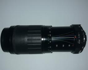 Lente Vivitar 70-210mm 1:4.5-5.6 Macro Focusing Zoom Lens