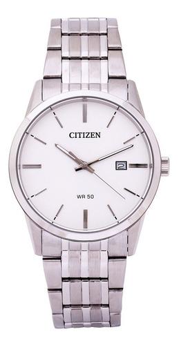 Imagen 1 de 4 de Reloj Citizen Bi5000-52a Acero Wr50m Agente Oficial