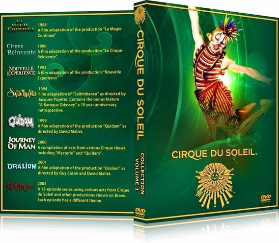 Box Cirque Du Soleil [28 Dvd
