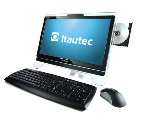 All In One Itautec 4gb Hd 500 Tela 20 Win 7 Excelente