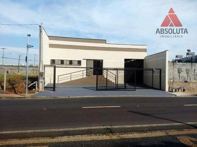 Salão Para Alugar, 180 M² Por R$ 200/mês - Conserva - Americana/sp - Sl0248