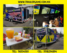 Sala De Videojuegos, Fiestas Infantiles, Remolque, 30 Niños