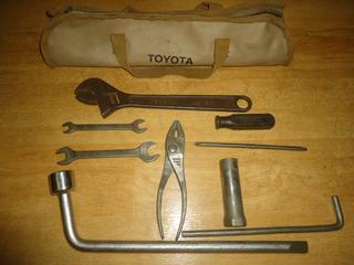 Bolso De Herramientas Originales Toyota Fj40 Fj60 Fj70
