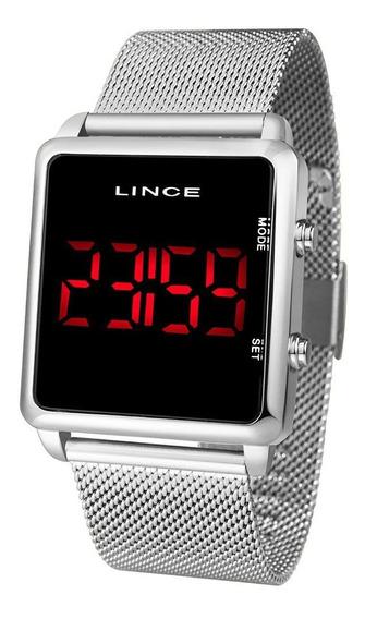 Relógio Lince Digital Quadrado Unissex