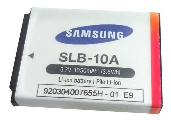 Samsung Slb-10a Bateria Original Nova Poucas Unidades