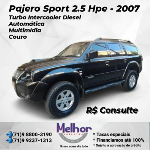 Imagem 1 de 1 de Mitsubishi Pajero Sport 2007 2.5 4x4 Aut. 5p