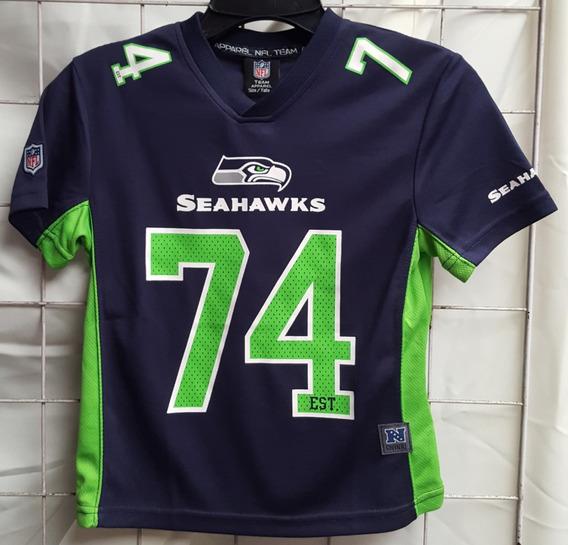 new style 2e29f 013c7 Jersey De Seattle Seahawks Para Niño en Mercado Libre México