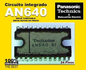 Ci An640 Driver Do Motor Toca-disco Technics