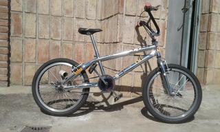 Bicicleta Freestyle Cromada Rodado 20