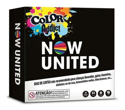 Jogo De Cartas Color Addict Now United Copag 41017