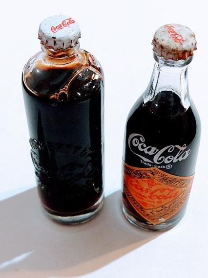 Mini Botellas De Coca Cola. 120° Aniversario - Tucu25