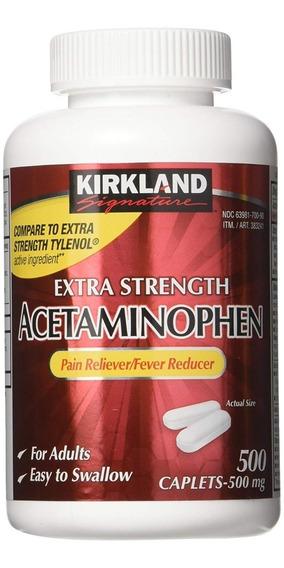 Medicamento Acetaminofen 500mg 500 Tabletas