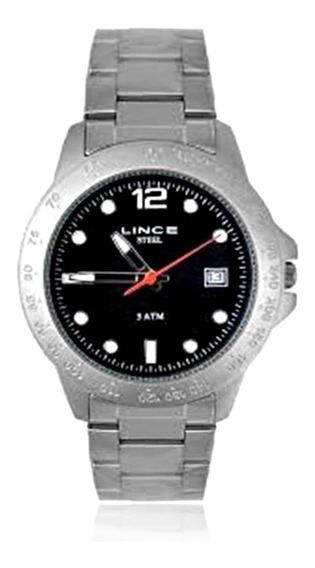 Relógio Masculino Lince Analógico Mrm779s P2gx Aço