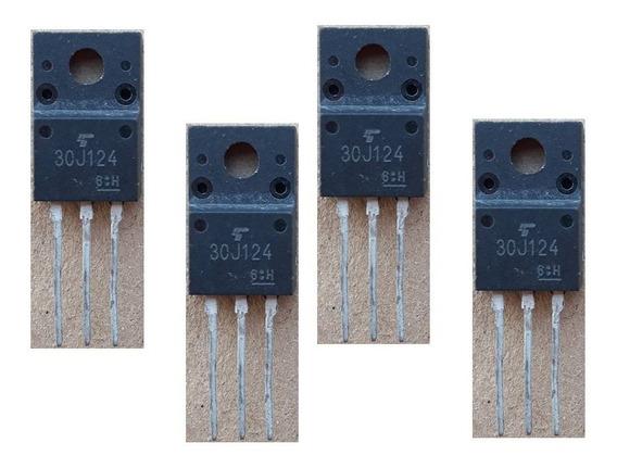 Transistor 30j124 Gt30j124 100% Original Kit 4 Peças