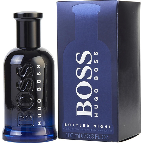 Perfume Hugo Boss Bottled Night N°6 Masculino 100ml Original