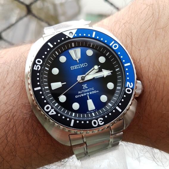 Relógio Seiko Turtle Srpc25 K1 - Novo P. Entrega Automático